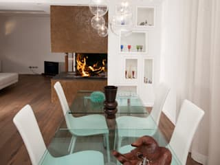 Modern dining room by LuVi ph Modern