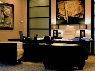Oficina Madrid Grupo Inmobiliario: Estudios y despachos de estilo  de Dimensi-on
