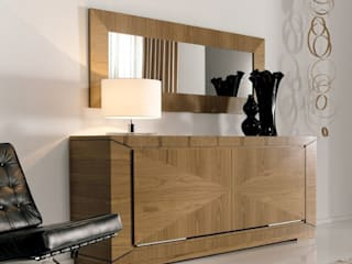 Líneas rectas en un mobiliario con estilo. de MUMARQ ARQUITECTURA E INTERIORISMO Ecléctico