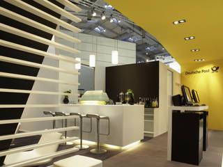 Post CeBIT 2012 Modernes Messe Design von Gellink + Schwämmlein Architekten Modern