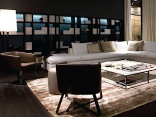 Living room by Cabanis Innenarchitektur