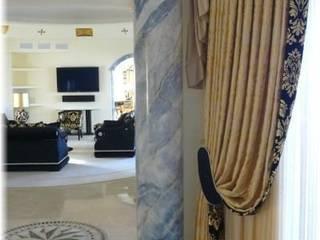 Säulen Marmormalerei von Illusionen mit Farbe Mediterran