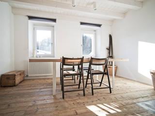 Nuovo progetto: Sala da pranzo in stile in stile Moderno di MIDE architetti