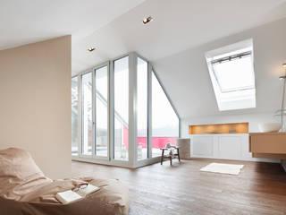Habitaciones de estilo  por WSM ARCHITEKTEN