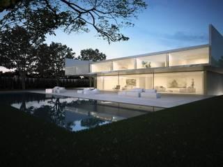 Casa de Aluminio. Fran Silvestre Arquitectos Casas de estilo minimalista de FRAN SILVESTRE ARQUITECTOS Minimalista