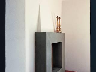 Casa sulle colline Versiliesi: Case in stile in stile Moderno di Massimo Fiorido Associati