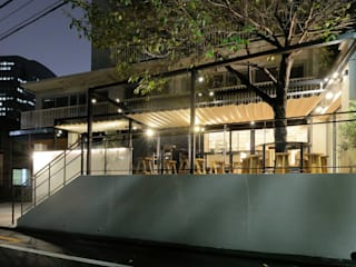 Bun Café - 外観・テラス席: MoMo. Co., Ltd.が手掛けたレストランです。