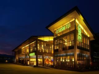 Sushi Tei Pekanbaru - 外観・夕方: MoMo. Co., Ltd.が手掛けたレストランです。