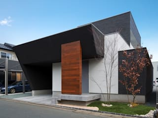 Casas de estilo  por Architect Show Co.,Ltd, Moderno