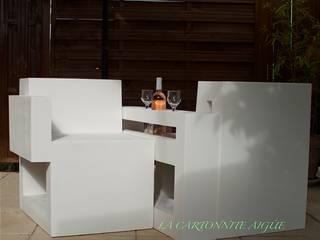Canapé de conversation par LA CARTONNITE AIGÜE Classique