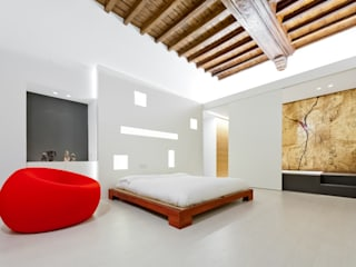 U:BA house Bedroom design ideas by Comoglio Architetti