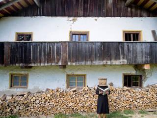 Ostfassade:  Häuser von Peter Haimerl . Architektur
