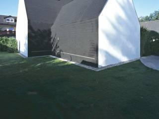 Rückseite:  Häuser von Peter Haimerl . Architektur