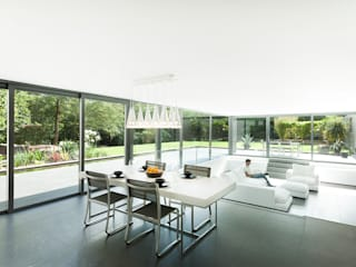 AR Design Studio- Abbots Way Ruang Makan Modern Oleh AR Design Studio Modern