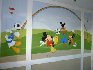 Murales infantiles con los personajes preferidos de los niños:  de estilo  de MURALES MARAVILLOSOS