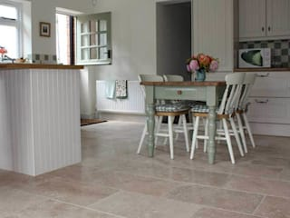 TRAVERTINE FLOORING DT Stone Ltd 牆壁與地板磁磚