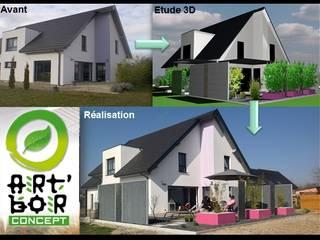 Art Bor Concept Modern houses