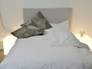 A White Bedroom Modern style bedroom by Cathy Phillips & Co Modern