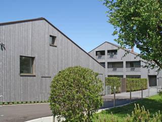 Einfamilienhaus Benken: moderne Häuser von Fäh Architektur