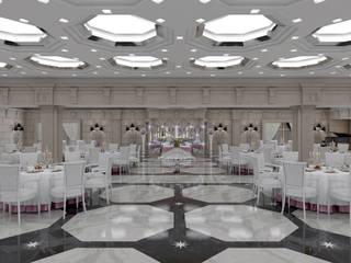 Salones de eventos de estilo ecléctico de Studio Ceccaroli Ecléctico