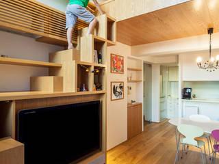 ST Family Residence 株式会社PROCESS5 DESIGN ミニマルデザインの 多目的室