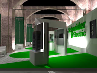 Exhibition centres by Studio Arch. Matteo Calvi