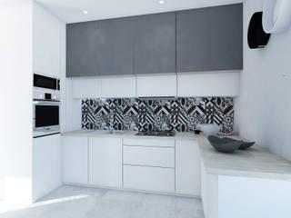 Cozinhas modernas por FOORMA Pracownia Architektury Wnętrz Moderno