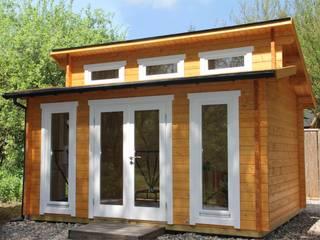 Jardines de estilo moderno de Gartenhaus2000 GmbH Moderno