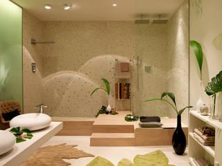 BARASONA Diseño y Comunicacion Mediterranean style bathroom