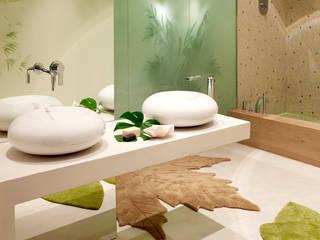 Baños de estilo mediterraneo por BARASONA Diseño y Comunicacion