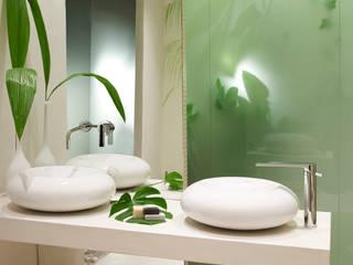 지중해스타일 욕실 by BARASONA Diseño y Comunicacion 지중해