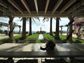 HS Balcones y terrazas de estilo mediterráneo de Fincas Cassiopea Group / FCG Architects Mediterráneo
