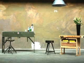An der Bar Industrialer Multimedia-Raum von works berlin Industrial