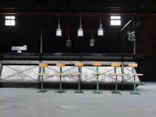 Salas multimedia de estilo industrial de works berlin Industrial