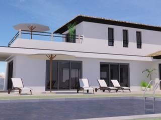 Villa Blauvac: Maisons de style de style Moderne par Villasophie