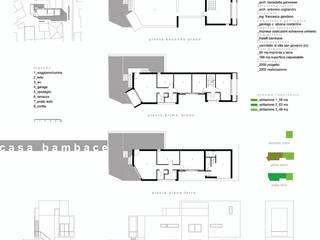 Casa Bambace: Case in stile  di Studio Cogliandro & Genovese,