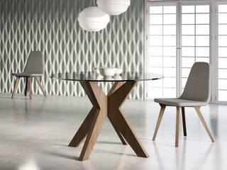 Sala de jantar  por Gallega Design