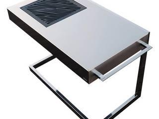 Akan Force Luxury Barbacoa de diseño para carbón en acero inoxidable.:  de estilo  de mibarbacoa.com