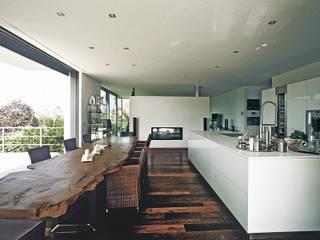 Wohnhaus Kraft Moderne Esszimmer von dauner rommel schalk architekten Modern