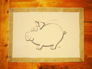 il maialino:  in stile  di DEPINGO&COQUINO