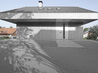 Wohnhaus im Allgäu Moderne Häuser von dauner rommel schalk architekten Modern
