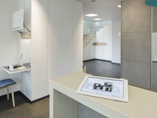 Modern Corridor, Hallway and Staircase by LUXHAUS Vertrieb GmbH & Co. KG Modern