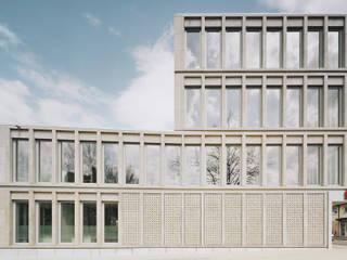 KSK Kompetenzcenter Süßen Moderne Bürogebäude von dauner rommel schalk architekten Modern