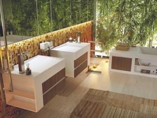 green bathroom: Bagno in stile  di Architettura & Servizi