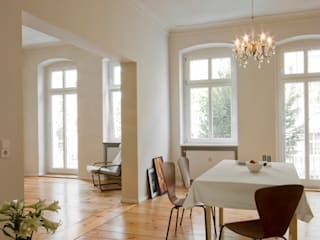 Nickel Architekten Modern dining room
