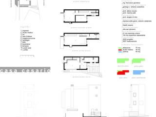 Casa Cesario: Case in stile  di Studio Cogliandro & Genovese,
