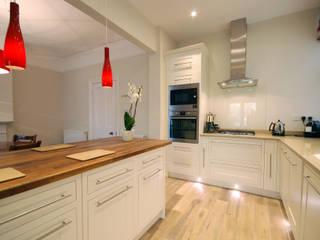 Creatio of open plan kitchen Modern kitchen by Emmanuelle Lemoine Interiors Modern