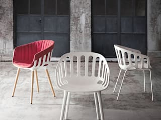 """BASKET CHAIR"" for Gaber di Alessandro Busana Designstudio"