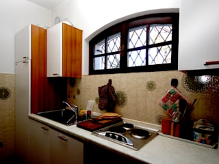 Rustic style kitchen by Marco Barbero Rustic