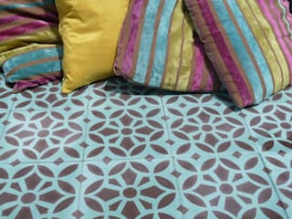 Maroq cement tile:   by Maria Starling Design